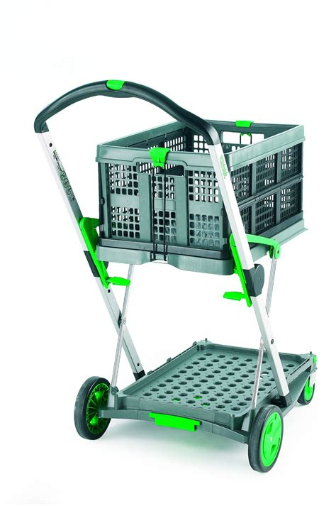 Clever Folding Trolley with Folding Boxes - Trucks & Trolleys