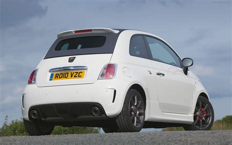 Fiat Abarth 500c by Fiat 500c Abarth 2011 Widescreen Car Wallpaper 03