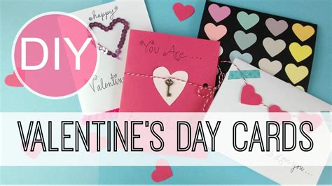 DIY Valentine's Day Cards | by Michele Baratta - YouTube