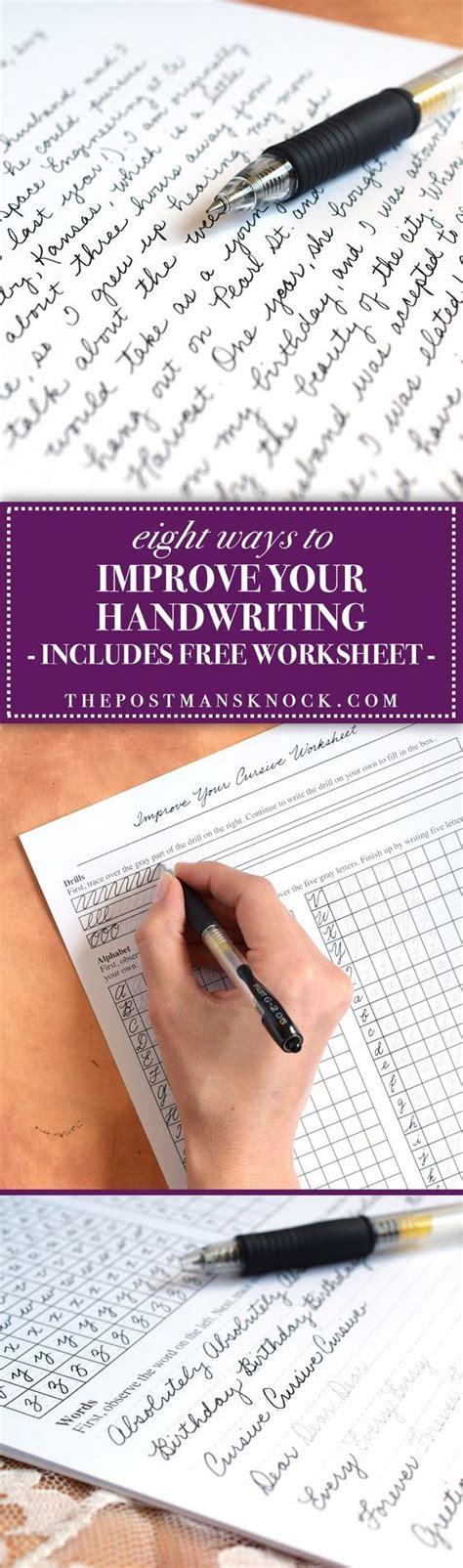 Best 25+ Improve Handwriting Ideas On Pinterest