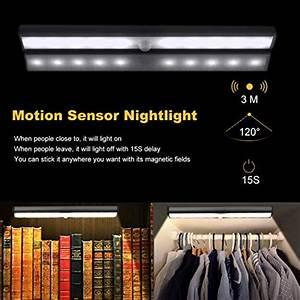 Homelife Motion Sensor Led Lights Zeutch Homelife Motion Sensor Magnetic Led Lights For