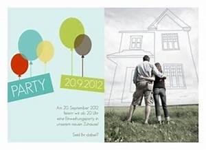 Spruch Zur Hauseinweihung : einladung einweihung balloons ~ Lizthompson.info Haus und Dekorationen