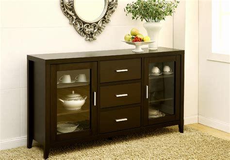 furniture  america true elegance espresso buffet tv cabinet