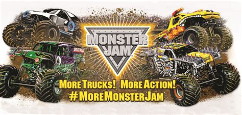 monster truck show discount code enter to win a family 4 pack of tickets to monsterjam