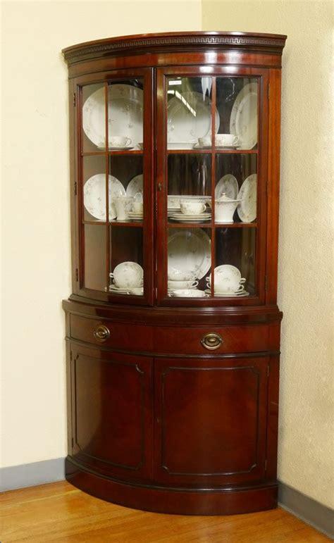 corner china cabinet hutch corner china cabinet great idea for window area near