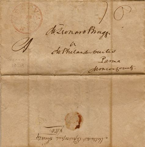 fellow investors cover letter 1828 joseph fellows to philander curtis leonard bragg