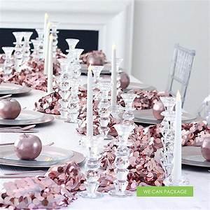 Rose Gold Decor : diy wedding centerpiece ideas do it yourself pearl decoration ~ Teatrodelosmanantiales.com Idées de Décoration