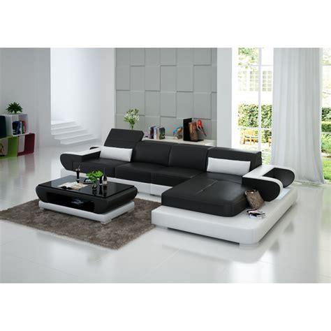 canape en promo canapé d 39 angle en cuir magnolia éclairages pop design fr