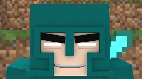 minecraft song  minecraft animation  square face