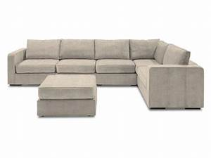 l sectional with tan tweed covers 6 bases 8 sides With sectional sofa redo