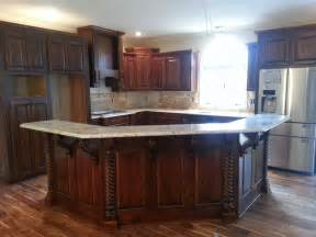 kitchen islands bars beautiful new kitchen using osborne modified bar corbels osborne wood