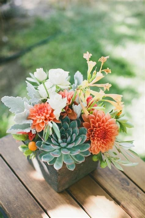 Beautiful Bridal 17 Stunning Succulent Wedding Centerpieces