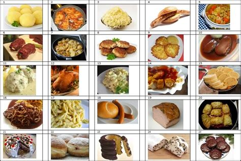 quiz cuisine german food by picture quiz by platonicus