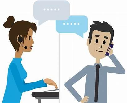 Call Receive Business Team Short Calls Talking