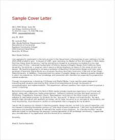 Cover Letter For Graphic Designer Sle Graphic Design Cover Letter 8 Exles In Word Pdf