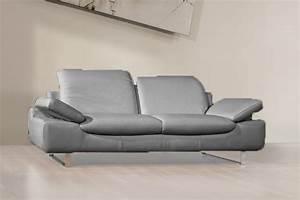 canape 3 places sofia en cuir regenere With tapis chambre enfant avec canape cuir 2 3 places