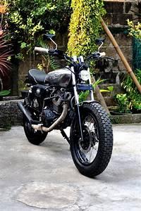 Honda Gl Iii    Megapro 2005  U0026quot Silver Cash U0026quot  Custom By
