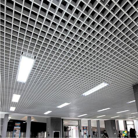 Metal Ceiling Grid by Aluminum Square Tube Ceiling Grid Amp Aluminium Grids
