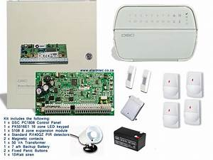 Dsc Security Systems Dsc Alarm Pc1808 16 Zone Kit