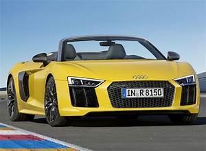 Audi R8 Spyder V10 Supercar Redefines Open