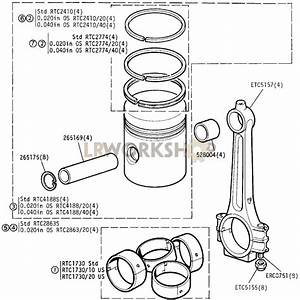 Connecting Rod And Piston - 2 25 Litre Petrol