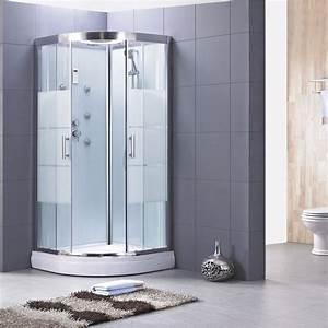 Cabine De Douche 80x80 : pose d 39 une cabine de douche leroy merlin ~ Edinachiropracticcenter.com Idées de Décoration