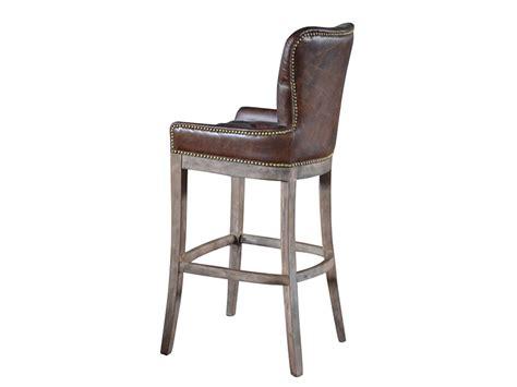 vintage leather bar stools leather bar stool 6838