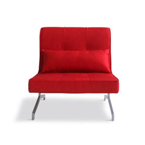 canapé 1 place convertible fauteuil convertible bz marco 1 place couleur r achat