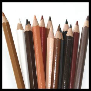 skin tone colored pencils s box march 2009