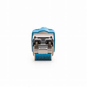 Toolless Field Termination Rj45 S Connector For Cat 7a