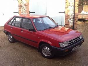 1984 Toyota Tercel Gl Red 1 3 Manual 5 Door Hatchback For