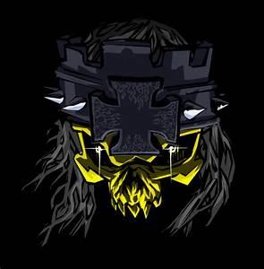The gallery for --> Triple H Skull Logo
