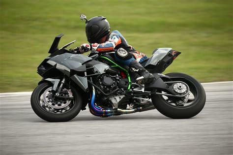 Review Kawasaki H2r by Kawasaki H2 H2r Media Test Ride Bike Reviews