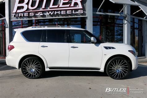 infiniti qx   lexani wraith wheels exclusively