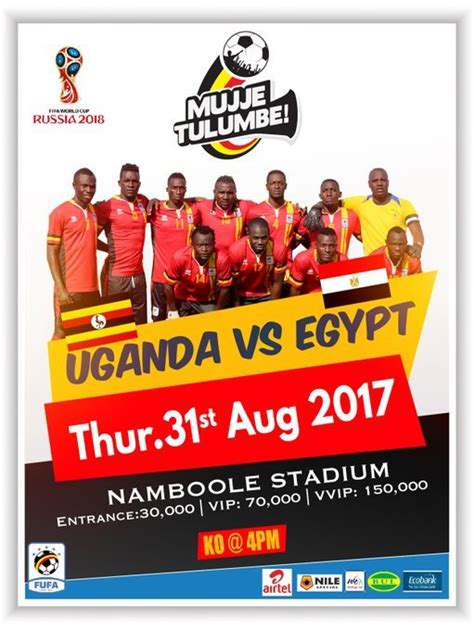 LIVE: Uganda 1-0 Egypt: 2018 World Cup Qualifier - Ghana ...