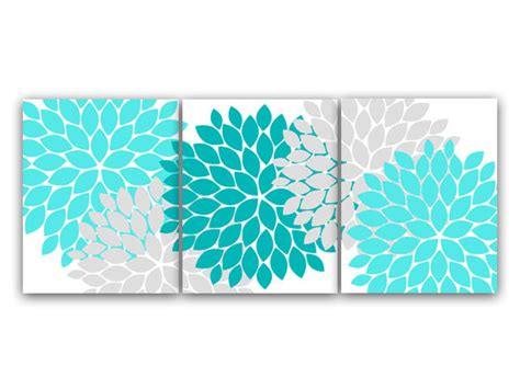 teal bathroom wall decor home decor canvas or prints home decor wall aqua and