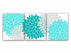 home decor canvas or prints home decor wall art aqua and With enchanting ideas with teal wall decals