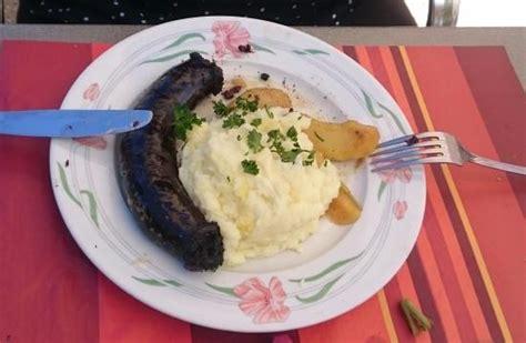 cuisiner du boudin noir foie gras picture of la brasserie du lavoir apremont