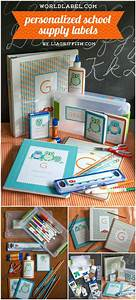 40 easy best diy back to school projects page 2 of 8 With diy school labels