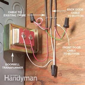 Adding Second Doorbell Chime Home Safety Ideas