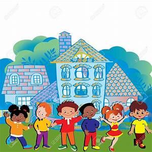Child Friendly School Clipart - ClipartXtras