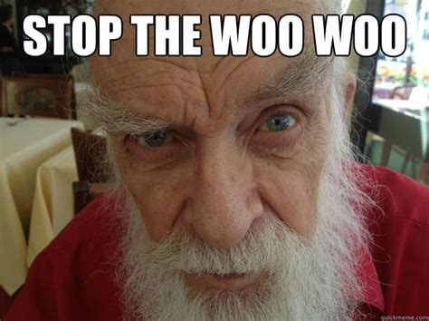 Woo Meme Stop The Woo Woo Randi Skeptical Brow Quickmeme