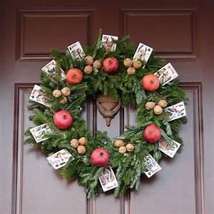 Weihnachtsdeko Aus Filz Selber Machen : t rkranz zu weihnachten selber machen 28 bastelideen ~ Whattoseeinmadrid.com Haus und Dekorationen
