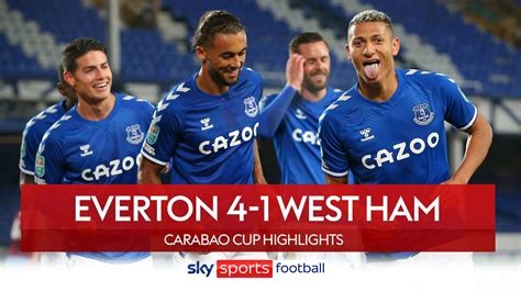 Everton vs Manchester United: Carabao Cup quarter-final ...