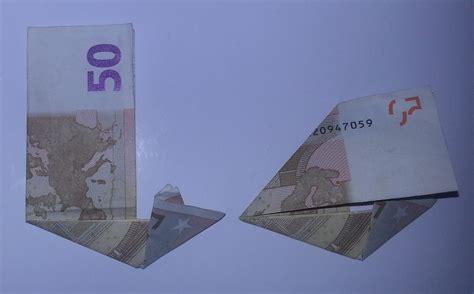 stiefel aus geldschein falten schritt  origami mit