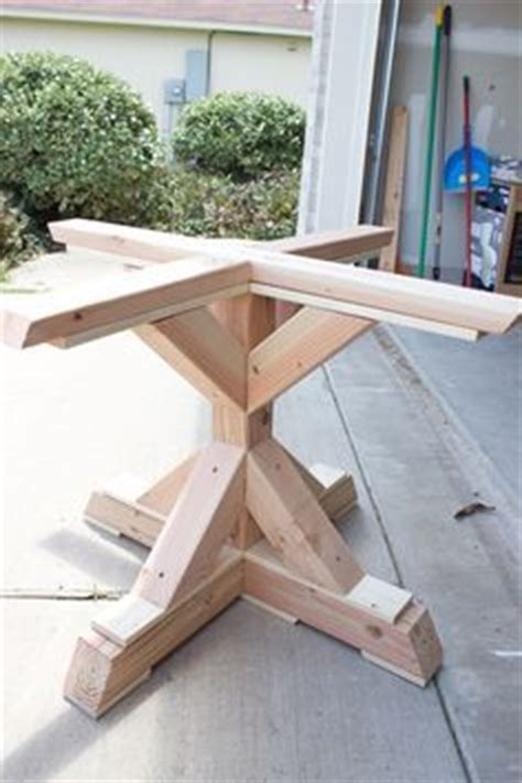 replacement dining room table legs woodworking pedestal and farmhouse table on pinterest