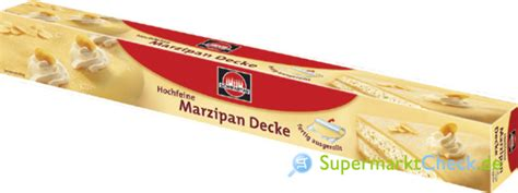 Schwartau Hochfeine Marzipan Decke Kalorien, Angebote