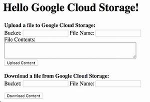 App engine and google cloud storage sample app engine for Google docs download storage