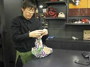 Comment Faire Un Sac : furoshiki comment faire un sac main avec un carr de tissu youtube ~ Melissatoandfro.com Idées de Décoration