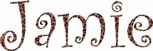animal print iron on name baby n toddler With cheetah iron on letters